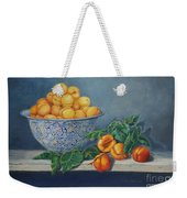 Apricots And Peaches Weekender Tote Bag