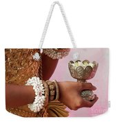 Apsara Dancer 01 Weekender Tote Bag