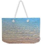 Aqua Art Weekender Tote Bag