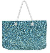Aqua Diamonds Weekender Tote Bag