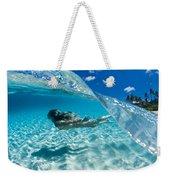 Aqua Dive Weekender Tote Bag