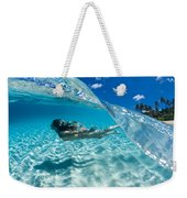 Aqua Dive Weekender Tote Bag by Sean Davey