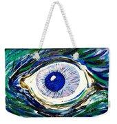Aqua Eye Weekender Tote Bag