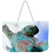 Aqua Girl Weekender Tote Bag