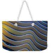Aqua Weekender Tote Bag