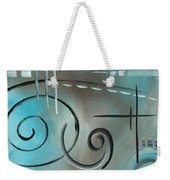 Aqua Mist By Madart Weekender Tote Bag