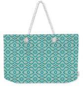Aqua X Arrangement Weekender Tote Bag