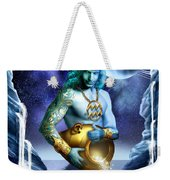 Aquarius Weekender Tote Bag by Ciro Marchetti