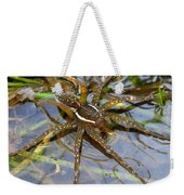 Aquatic Hunting Spider Weekender Tote Bag