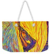 Arabesque Flame Weekender Tote Bag