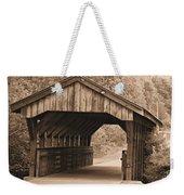 Arabia Mountain Covered Bridge Weekender Tote Bag