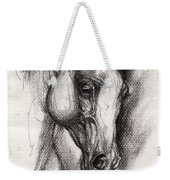 Arabian Horse Drawing 12 Weekender Tote Bag