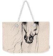 Arabian Horse Drawing 25 Weekender Tote Bag