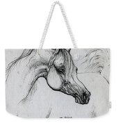 Arabian Horse Drawing 28 Weekender Tote Bag