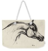 Arabian Horse Drawing 30 Weekender Tote Bag