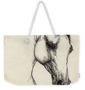 Arabian Horse Drawing 32 Weekender Tote Bag