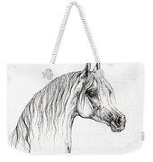 Arabian Horse Drawing 47 Weekender Tote Bag