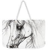 Arabian Horse Drawing 49 Weekender Tote Bag