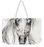 Arabian Horse Drawing 55 Weekender Tote Bag