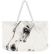 Arabian Horse Sketch 2014 05 28c Weekender Tote Bag