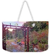 Arbor And Fall Colors 2 Weekender Tote Bag