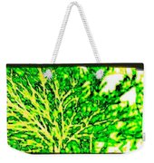 Arbres Verts Weekender Tote Bag by Will Borden