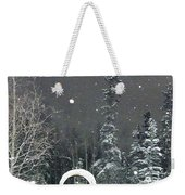 Arc De Neige  Weekender Tote Bag