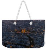 Arc De Triomphe From Above Weekender Tote Bag