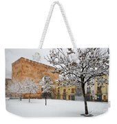 Arc Of Elvira While A Snowstorm Weekender Tote Bag