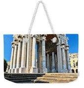 arc of triumph in Piazza Della Vittoria - Genova Weekender Tote Bag