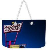 Arcadia Lodge Weekender Tote Bag