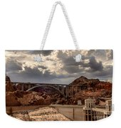 Arch Bridge And Hoover Dam Weekender Tote Bag by Robert Bales