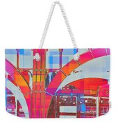 Arch Five  - Architecture Of New York City Weekender Tote Bag