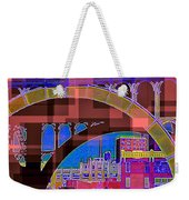 Arch One - Architecture Of New York City Weekender Tote Bag