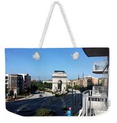 Arch Morning View Weekender Tote Bag