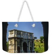Arch Of Constantine Weekender Tote Bag