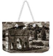 Arch Of Contantine Weekender Tote Bag