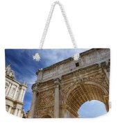 Arch Of Septimius Severus Weekender Tote Bag