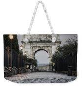 Arch Of Titus Morning Glow Weekender Tote Bag