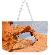 Arch Rock In The Valley Of Fire State Park In Nevada Weekender Tote Bag
