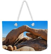 Arch Rock - Joshua Tree National Park  Weekender Tote Bag