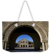 Arch To Memorial Church Stanford California Weekender Tote Bag