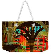Arch Two - Architecture Of New York City Weekender Tote Bag