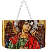 Archangel Michael Icon Weekender Tote Bag