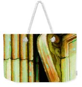 Archatectural Elements  Digital Paint Weekender Tote Bag by Debbie Portwood