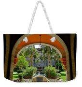 Arched Courtyard Weekender Tote Bag