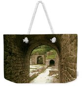 Arched Entrance To Fiesole Theatre Weekender Tote Bag