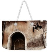 Arched Passage In Old Rustic Venetian House Weekender Tote Bag