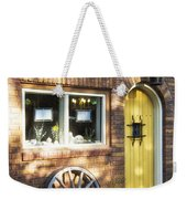 Arched Yellow Door Weekender Tote Bag