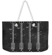 Archery Hunting Arrows Patent Weekender Tote Bag